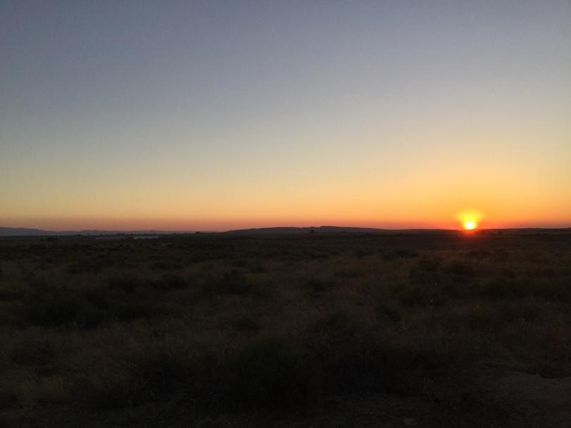 2018 Karel w04 Päikeseloojang kõrbes 2